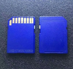 Factory price wholesale blue black sd card
