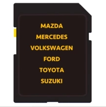 Factory batch Change 8GB SD Card CID for MAZDA TOYOTA navigation