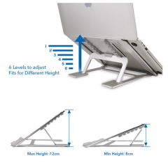 2020 Universal Laptop Stand Aluminum Lapdesks for 11-15 inch Computer  Adjustable Cooling Laptop Stand